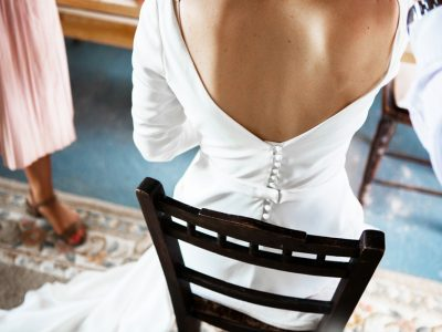 Berwick Wedding Photographer - wedding dress details