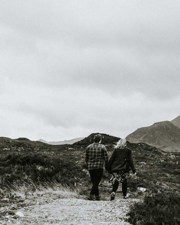 Winter Elopement on the Isle of Skye