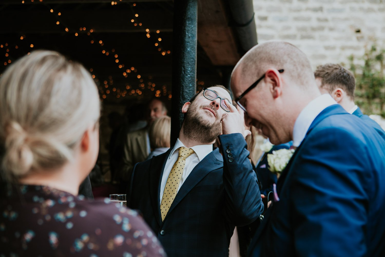 Healey Barn Wedding - guest candids