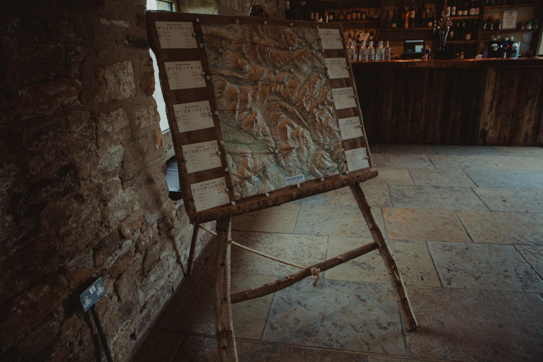 Healey Barn Wedding - table plan