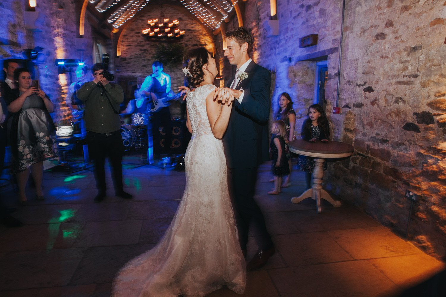 Healey Barn Wedding - Bride and Groom First Dance