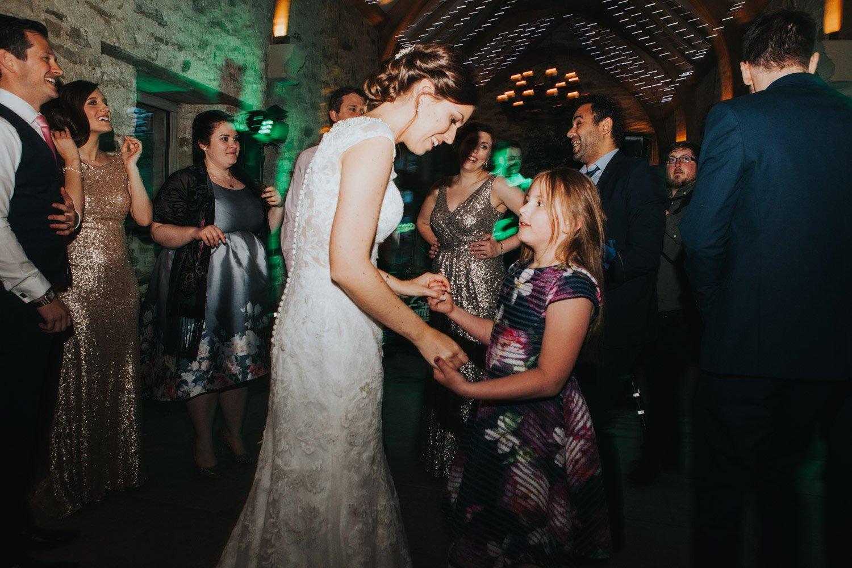 Healey Barn Wedding - Evening Party Dancing