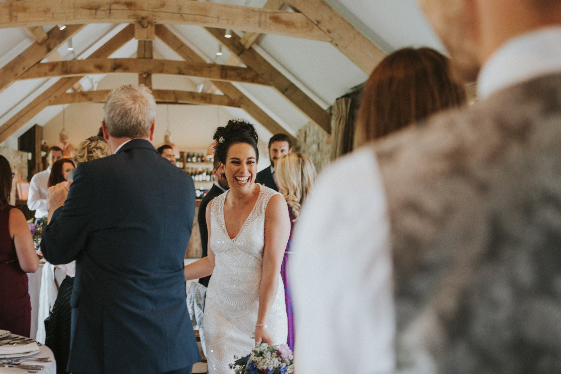 Healey Barn Wedding Bride and Groom announced