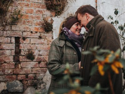 Chris & Rebecca's Rustic Engagement Session - Eglingham Hall