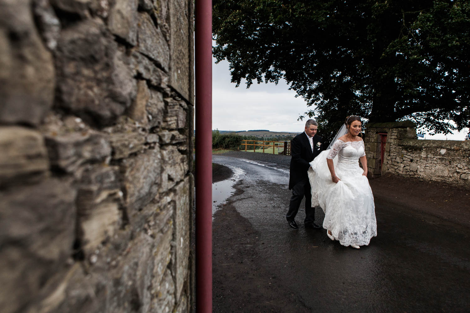 Northumberland Weddding Photographer - Farm DIY Wedding