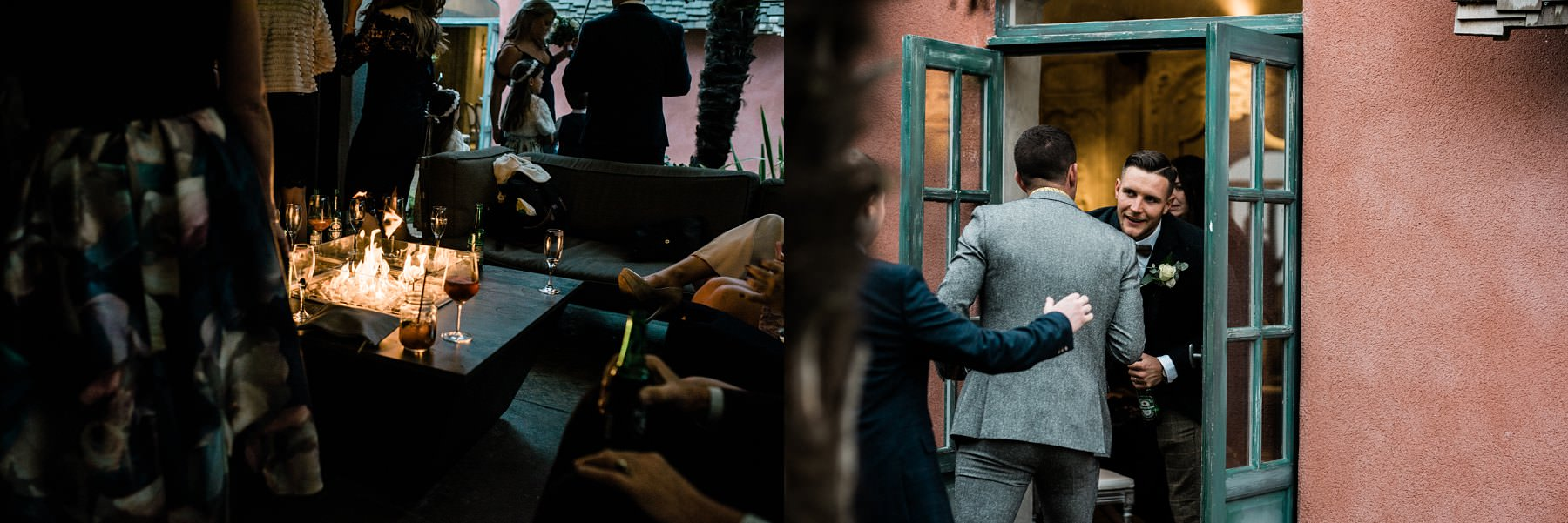 Wedding reception Le petite Chateau wedding - Newcastle Wedding Photographer