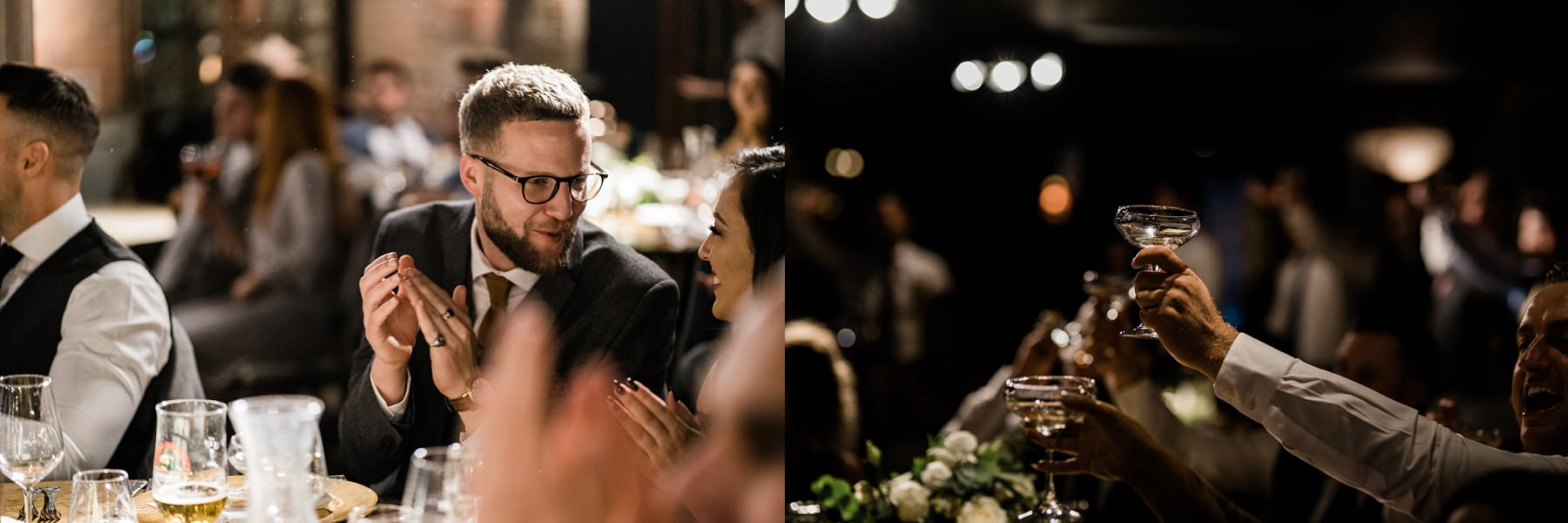 speeches Le petite Chateau wedding - Newcastle Wedding Photographer
