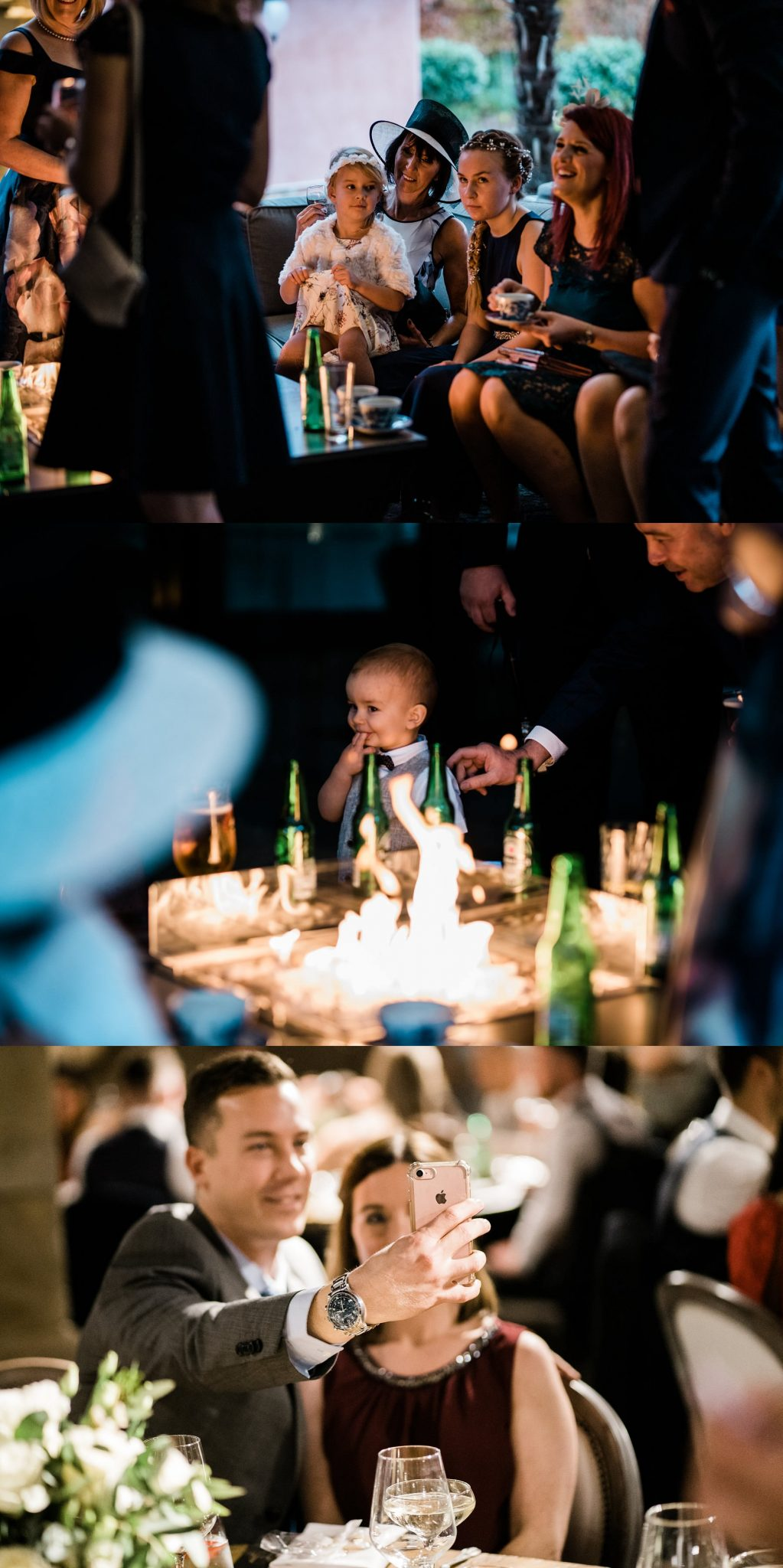 Wedding Reception Le petite Chateau wedding - Newcastle Wedding Photographer