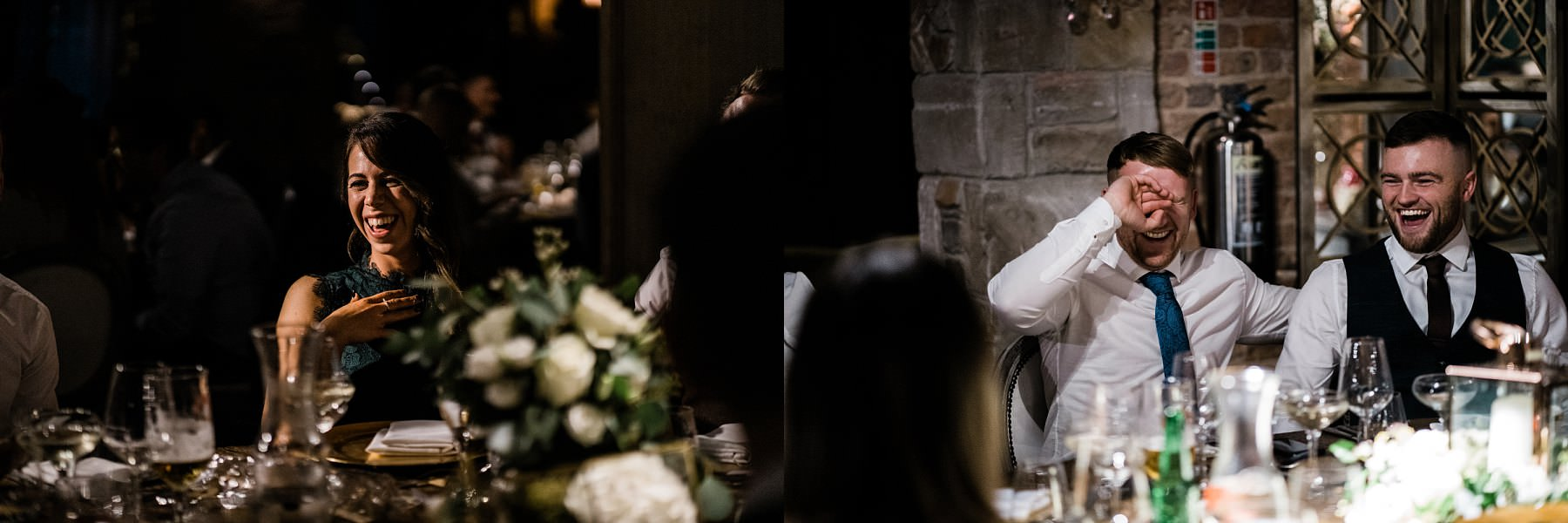 Wedding breakfast Le petite Chateau wedding - Newcastle Wedding Photographer