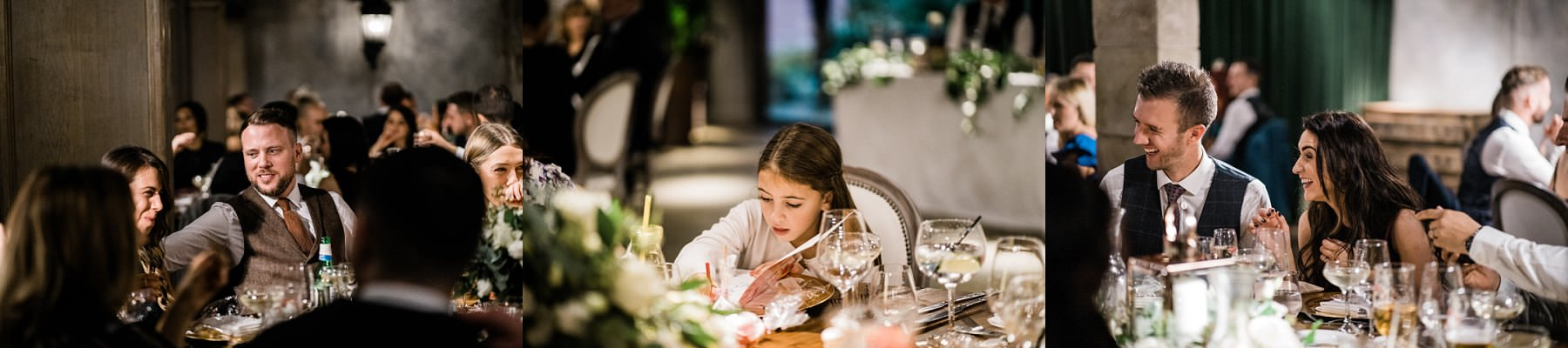 Evening reception Le petite Chateau wedding - Newcastle Wedding Photographer