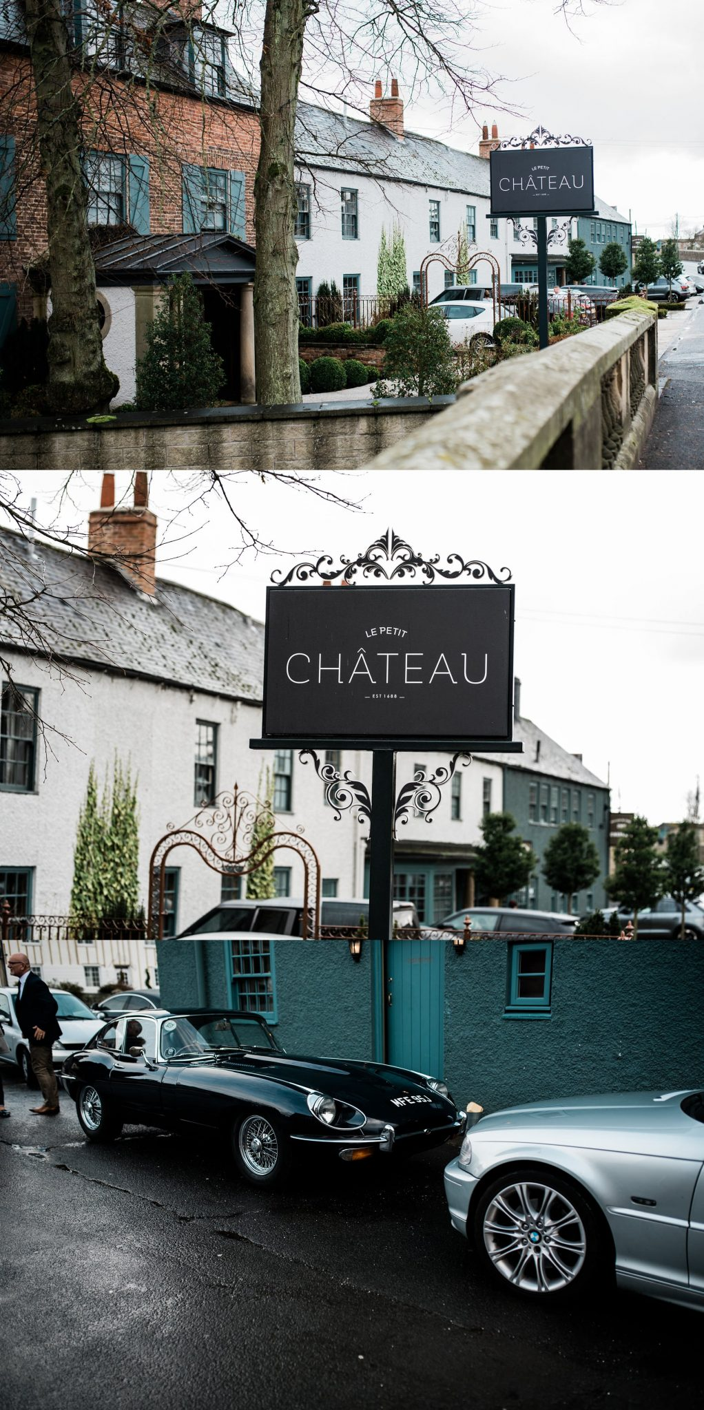 Sign at Le petite Chateau wedding - North East Wedding Photographer