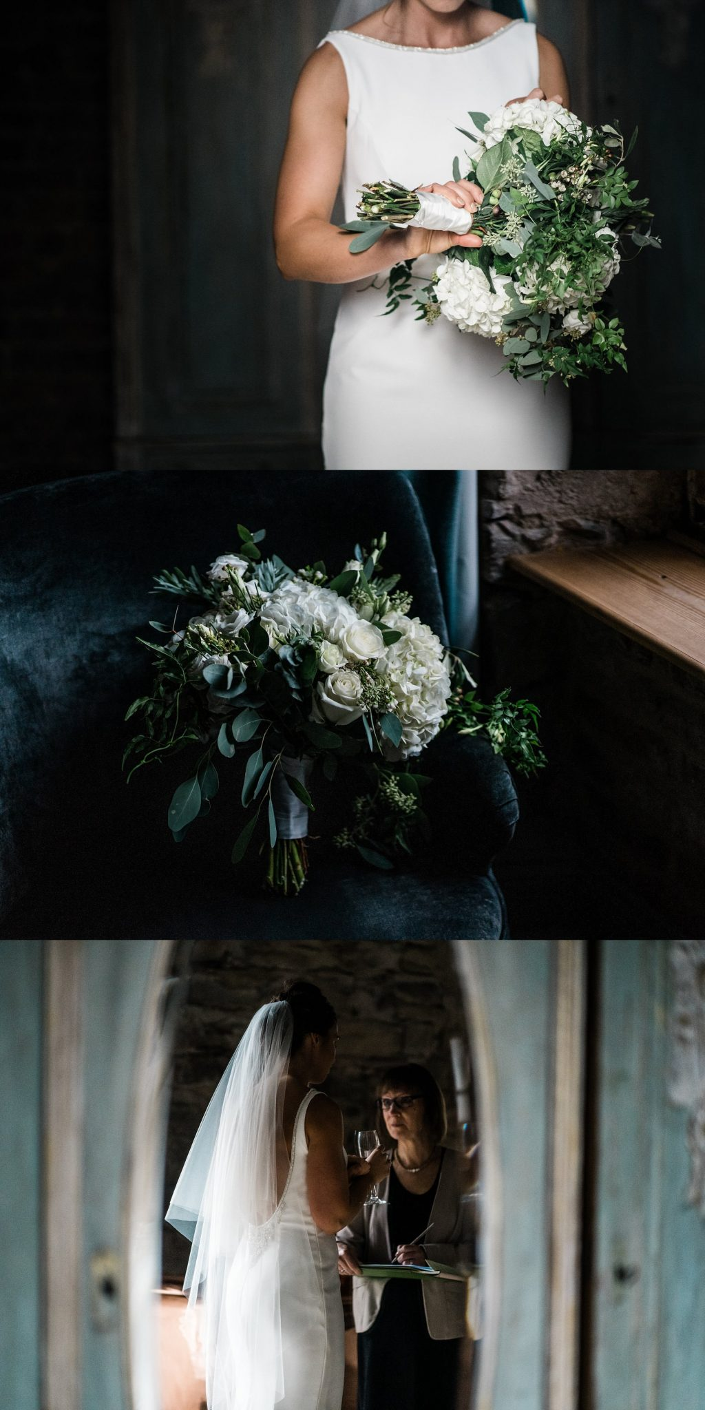 Bridal preparations Le petite Chateau wedding - North East Wedding Photographer