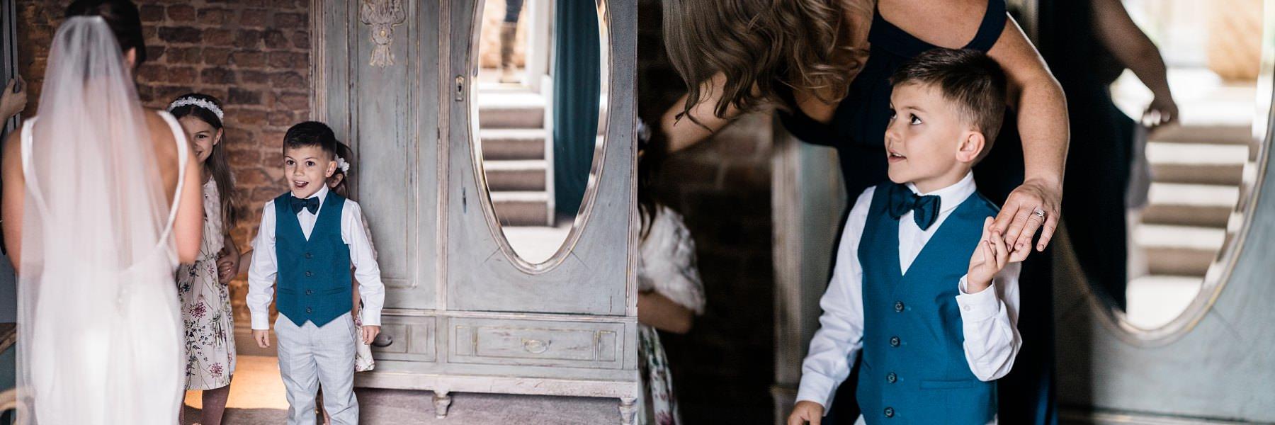 Bridal preparations Le petite Chateau wedding - North East Wedding Photographer