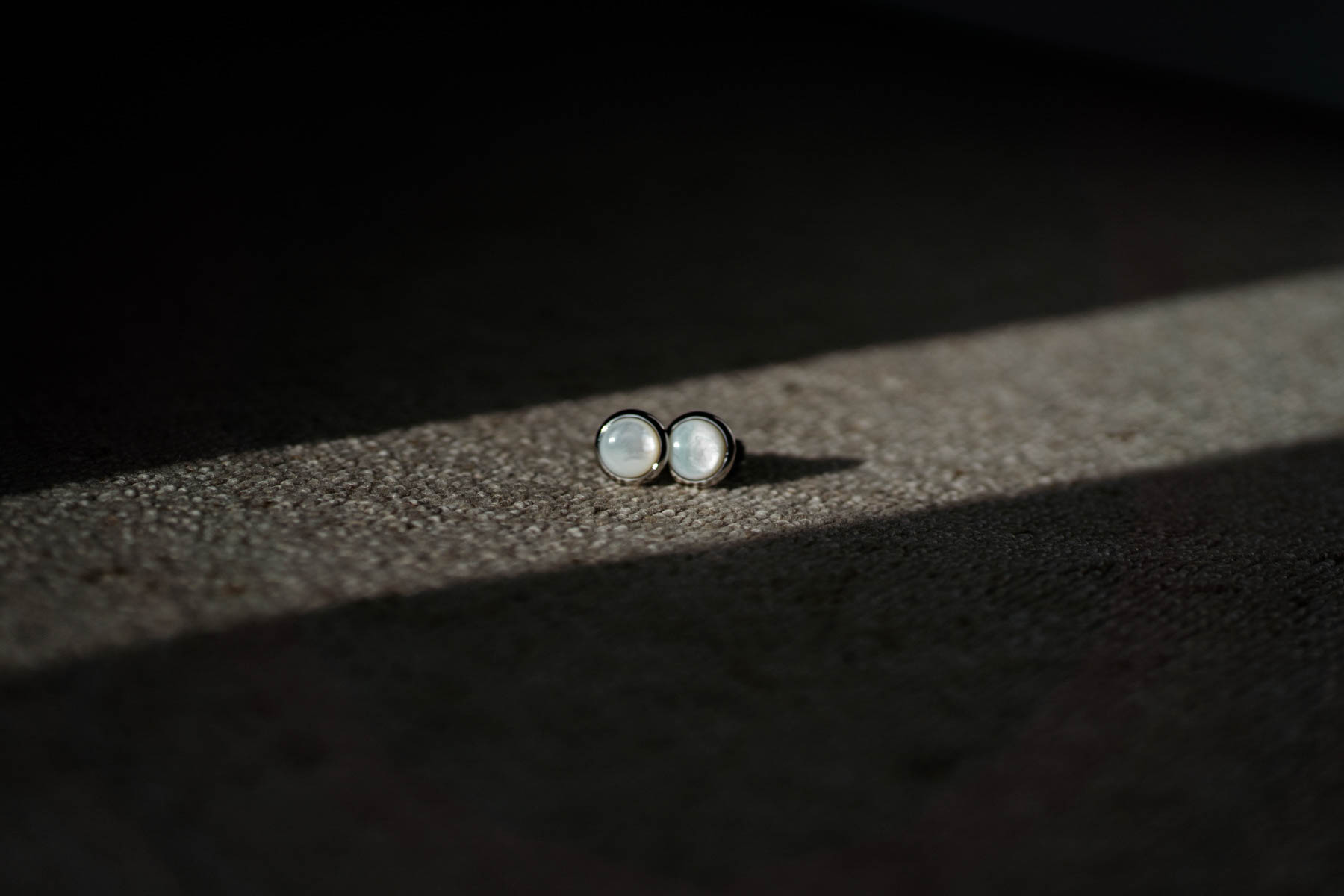 Eshott Hall Wedding Photographer | groom cuff links