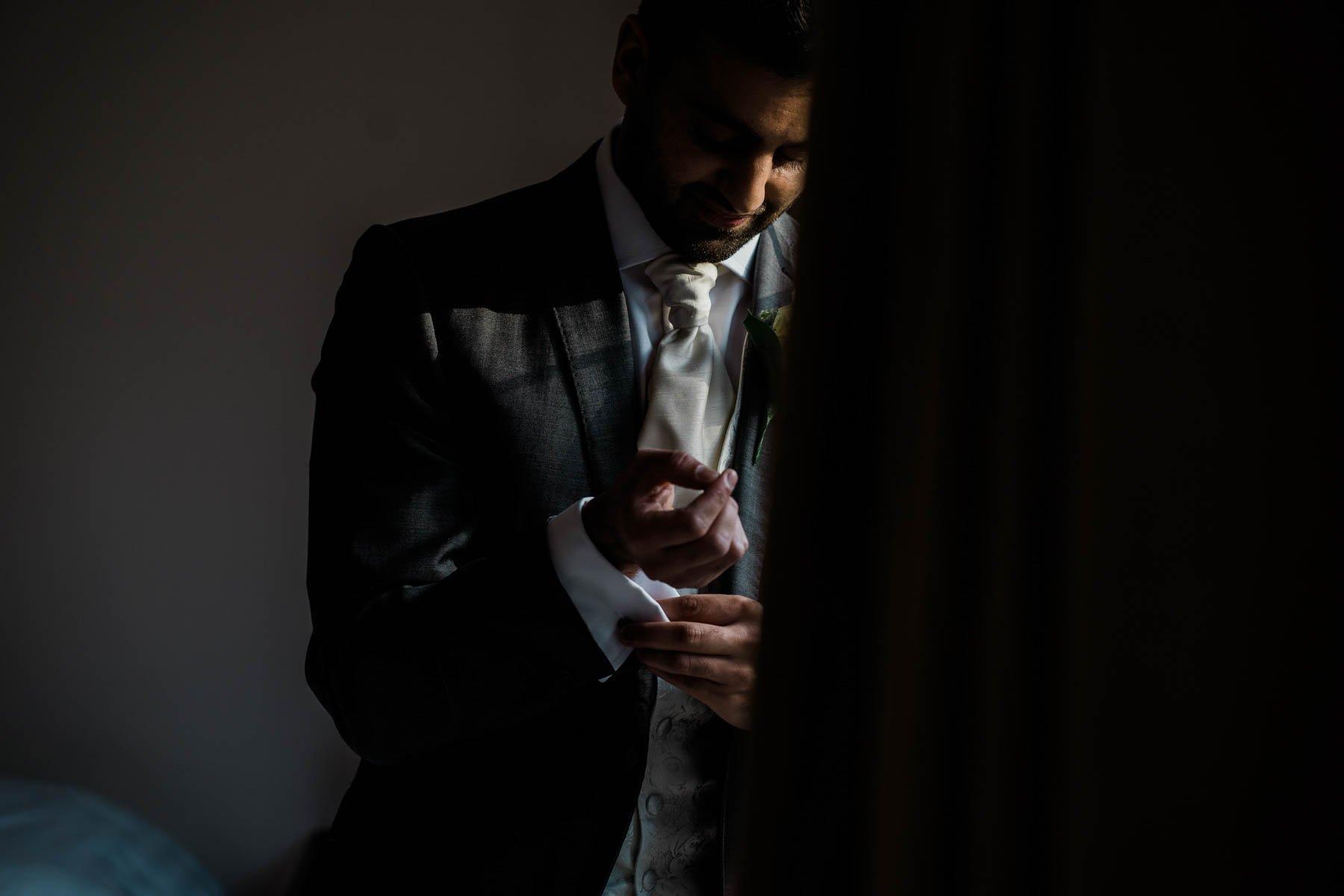 Eshott Hall Wedding Photographer   wedding day gift cartier