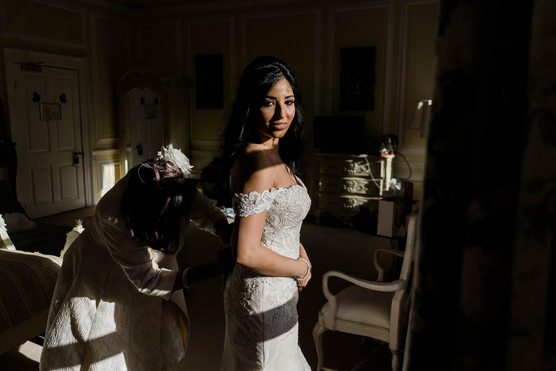 Eshott Hall Photographer   bridal prep