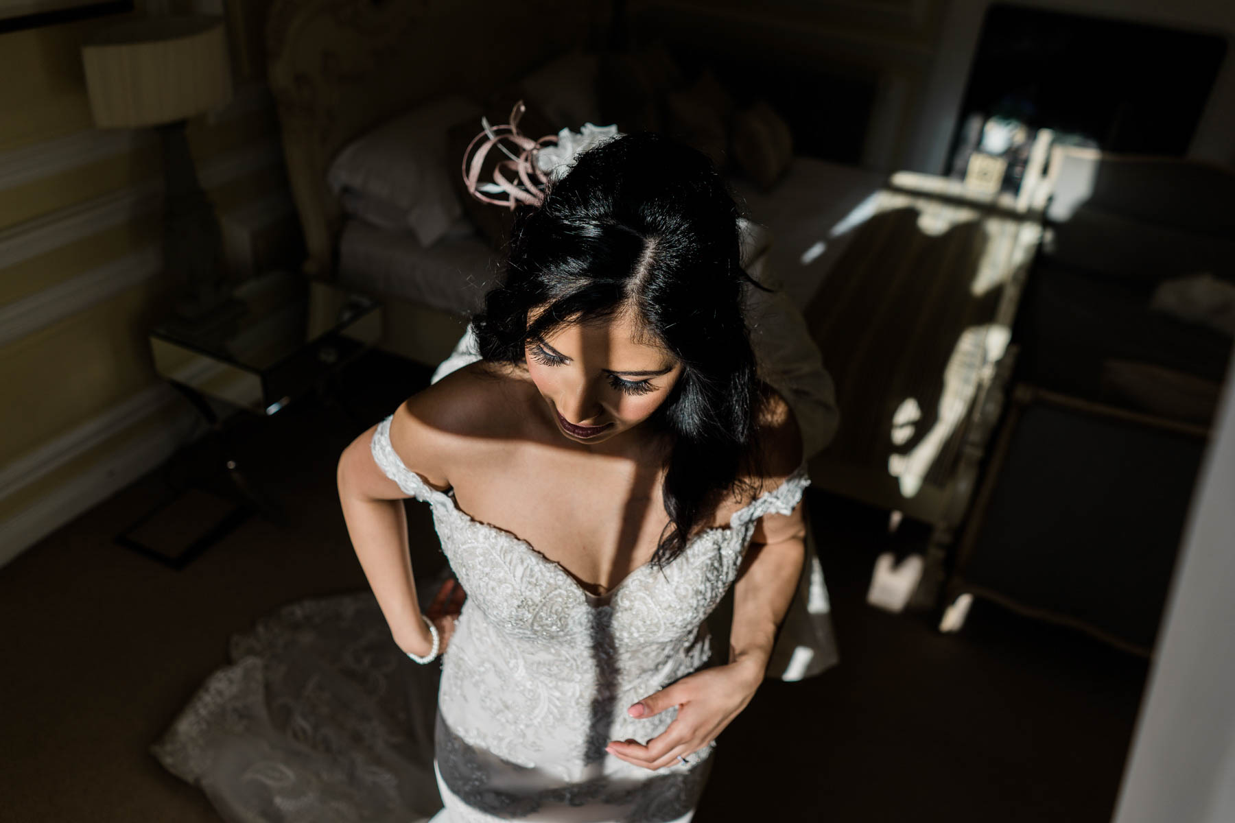 Eshott Hall Wedding Photographer | bridal portraits