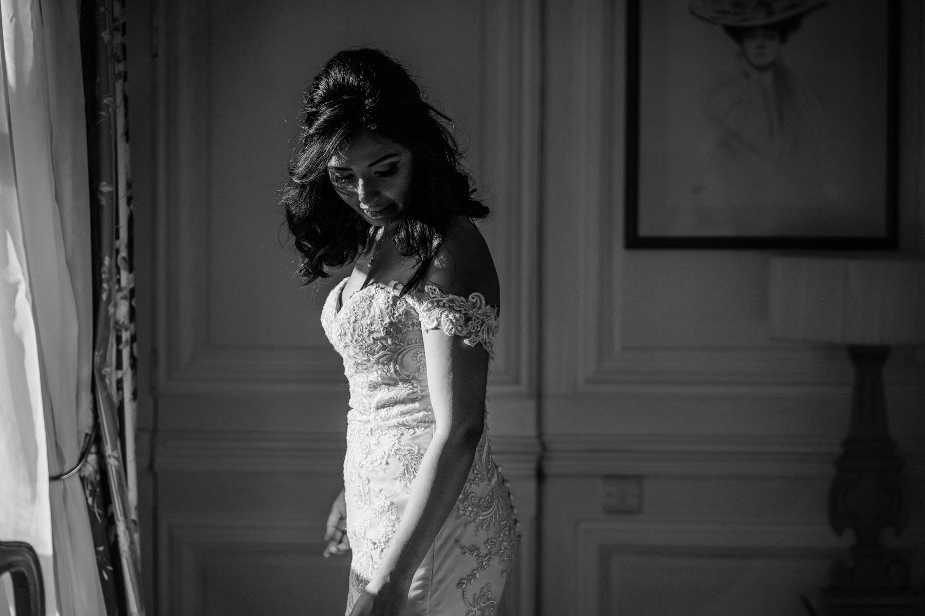 Eshott Hall Wedding Photographer | bridal prep