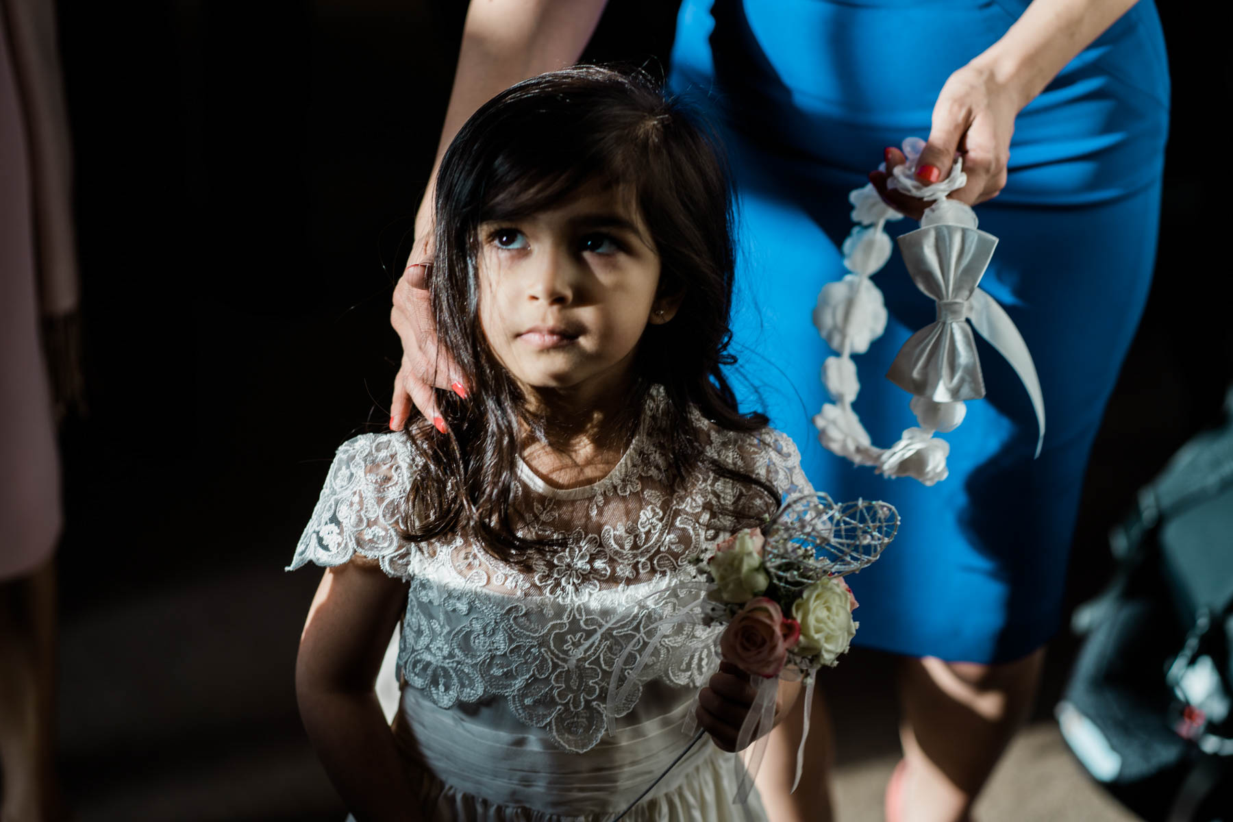 Eshott Hall Wedding Photographer   flower girl