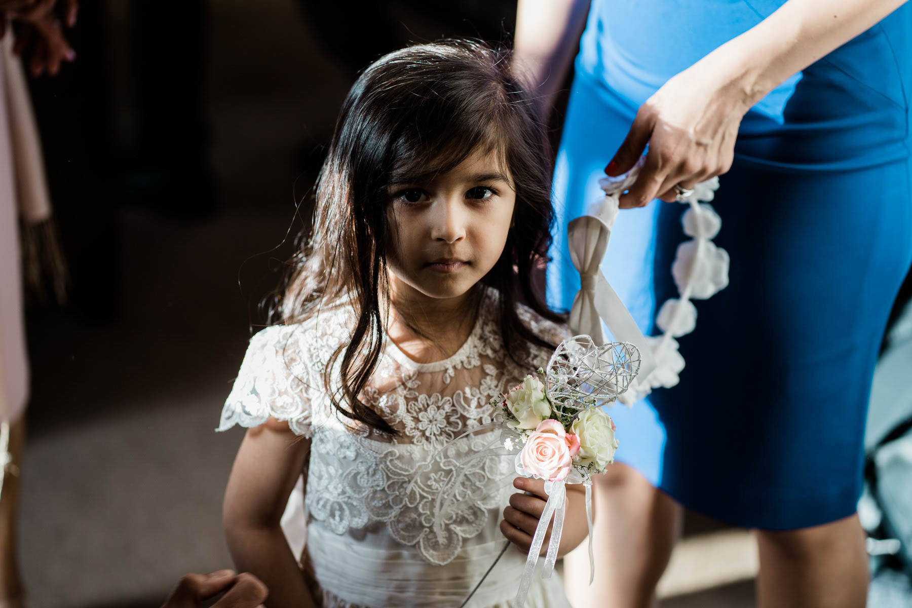 Eshott Hall Wedding Photographer | flower girl