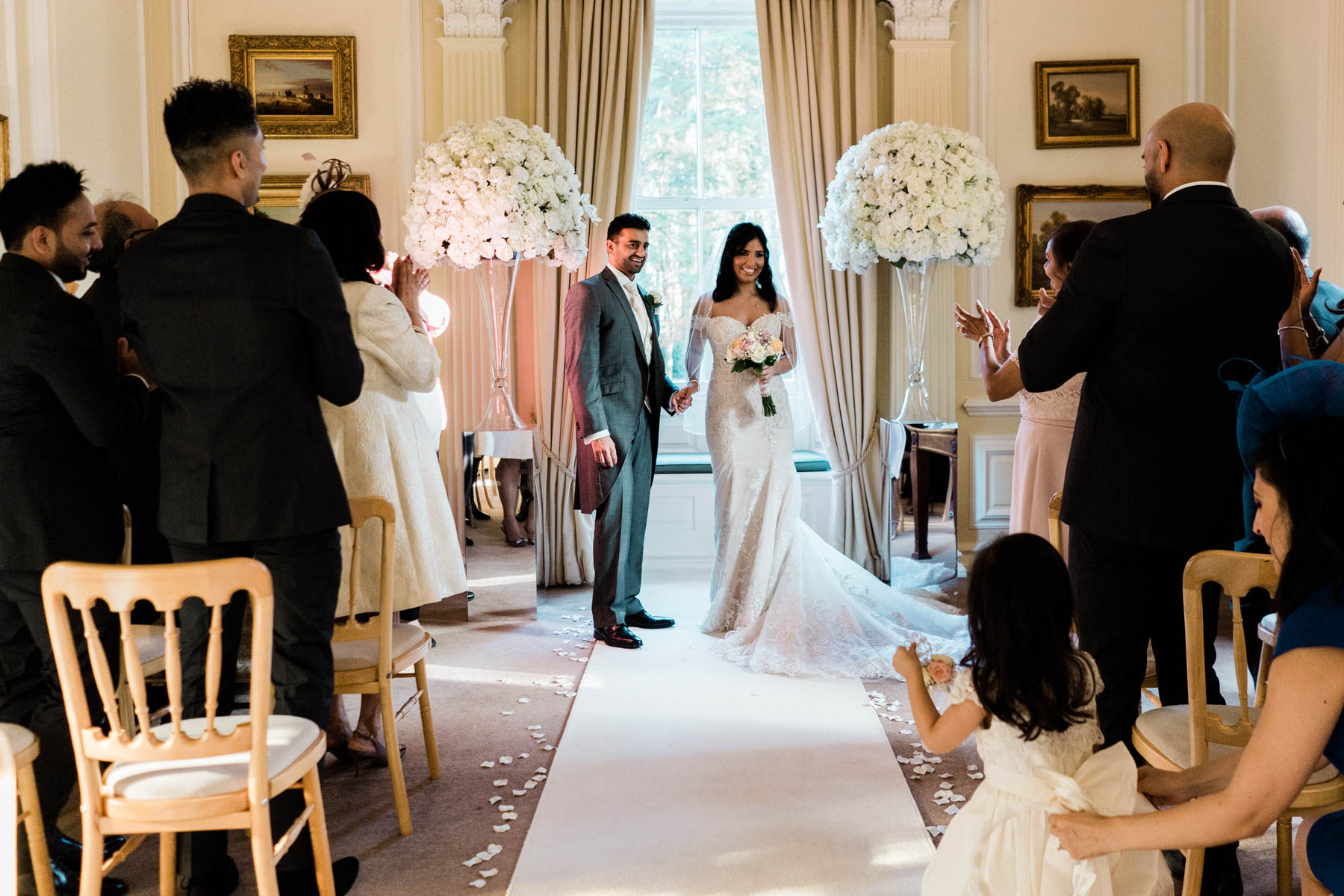 Eshott Hall Wedding Photographer   wedding ceremony