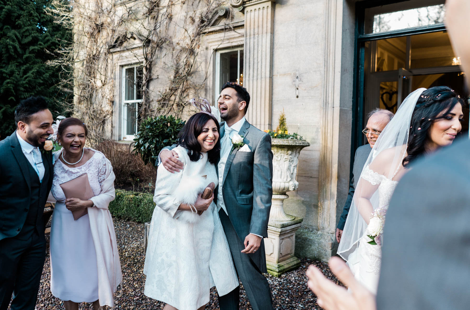 Eshott Hall Wedding Photographer | guest candids