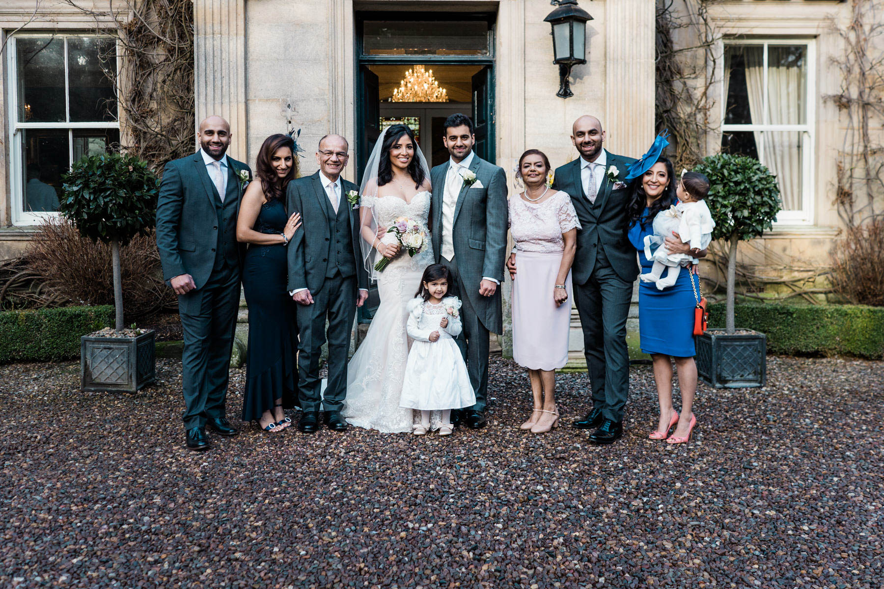 Eshott Hall Wedding Photographer | formal photographs