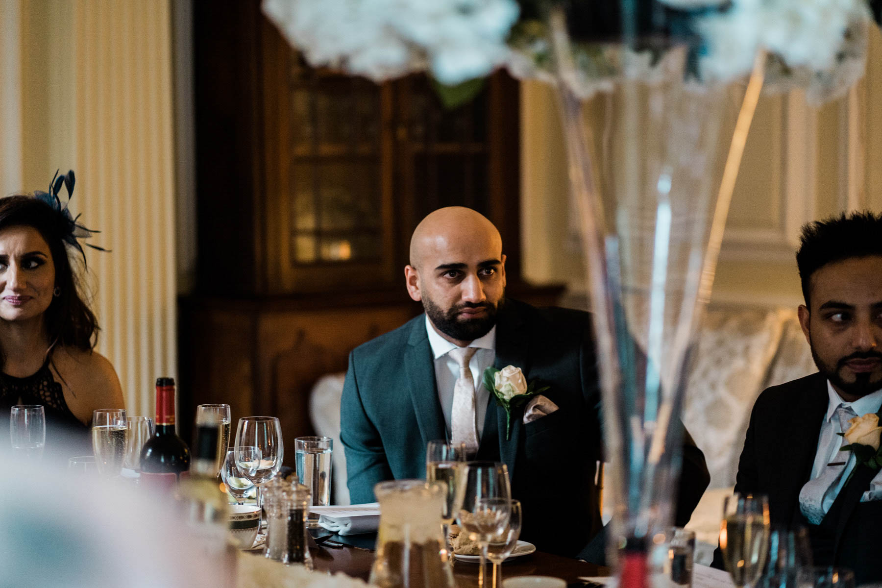 Eshott Hall Wedding Photographer | wedding speeches