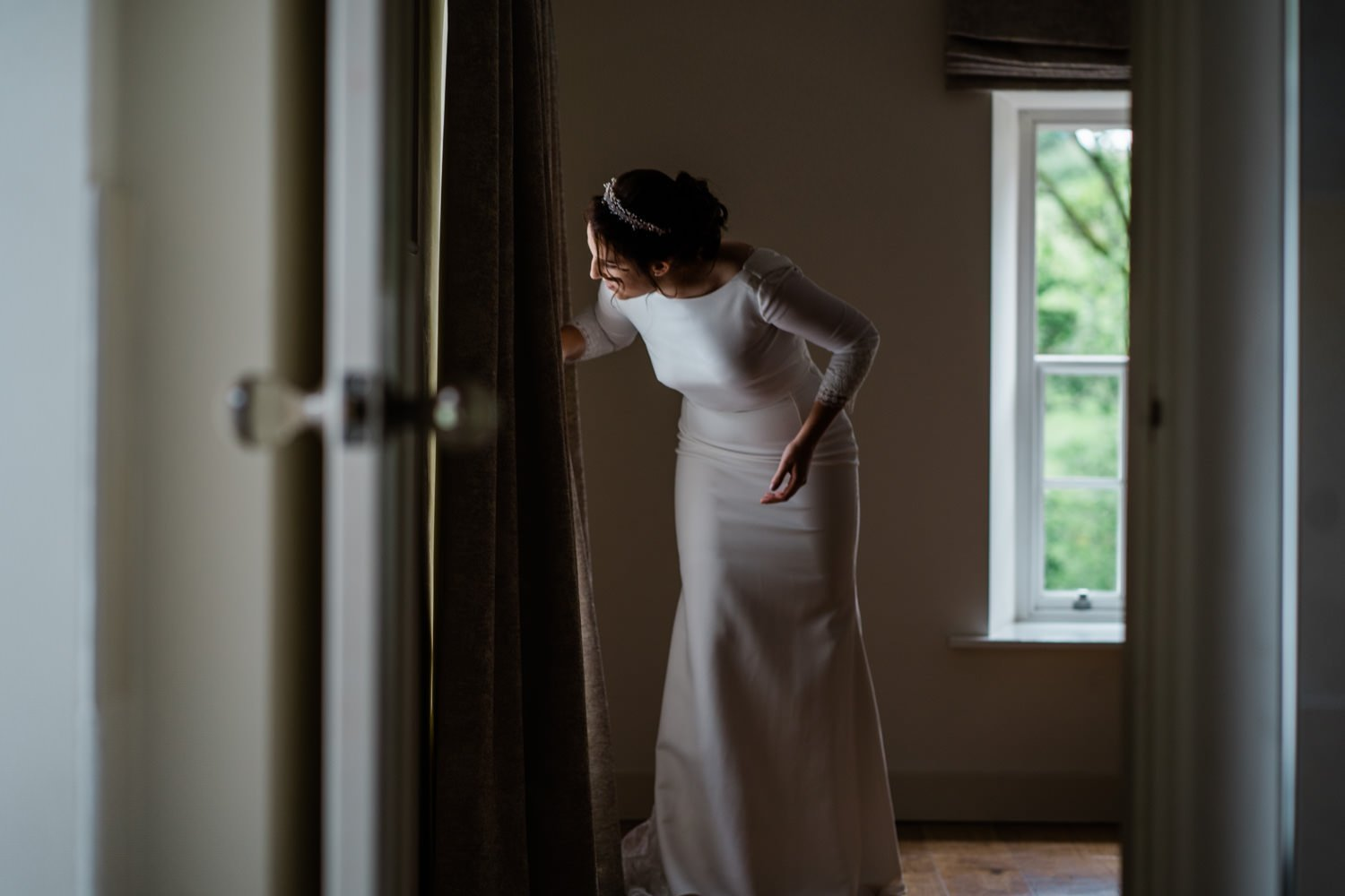 bridal preparations - london wedding photographer