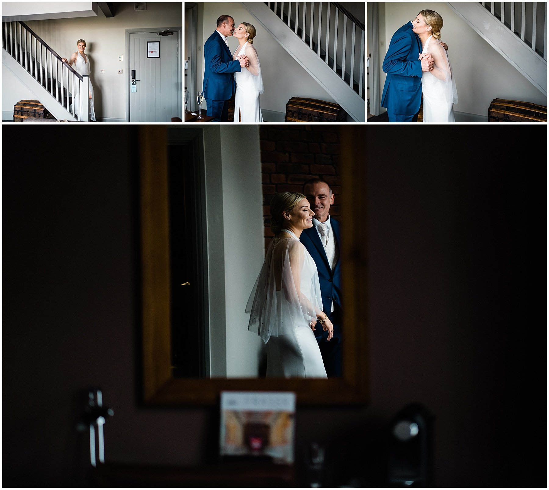 Hotel Du Vin Wedding | Newcastle Wedding photographers | farther of the bride reveal